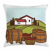 Alcohol Throw Pillow Cases Cushion Covers Home Decor 8 Sizes Ambesonne