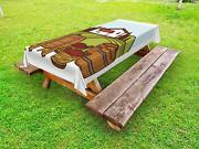 Alcohol Outdoor Picnic Tablecloth In 3 Sizes Washable Waterproof