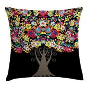 Creative Colorful Throw Pillow Cases Cushion Covers Home Decor 8 Sizes Ambesonne