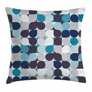 Retro Style Throw Pillow Cases Cushion Covers Home Decor 8 Sizes Ambesonne