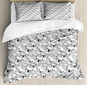 Vintage Camera Duvet Cover Set Twin Queen King Sizes With Pillow Shams