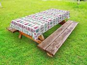 Camera Outdoor Picnic Tablecloth In 3 Sizes Washable Waterproof