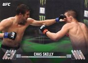 2017 Topps Ufc Knockout Green Parallel /215 Chas Skelly Debut Rc Rookie78