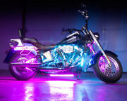 Led Glow 8pc Advanced Million Color Led Motorcycle Kit With Smartphone Control