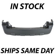 New - Primered Rear Bumper Replacement For 2008-2012 Ford Escape W/out Tow 08-12