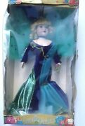 Collectible Camellia Garden Porcelain Doll 18 1997 W/stand And Box
