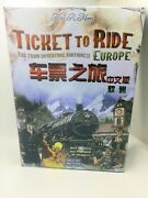 Ticket To Ride Europe - Days Of Wonder Strategy Board Game Chinese Version