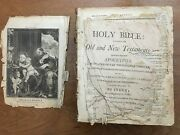 1812 The First Vermont Bible Windsor Merrifield And Cochran Illustrations Mason