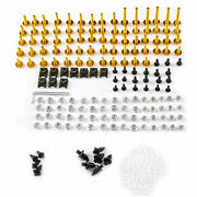 Motorcycle Fairings Bolts Kit For 2004 2005 2006 Yamaha Yzf1000 R1 Screws New