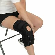 New Bariatric Open Patella Plus Size Hinged Knee Brace For Men And Women