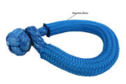 Blue 14mm150mm Large Soft Shackleatv Winch Shackleoffroad Synthetic Shackle