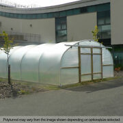 20ft Wide Poly Tunnel Commercial Garden Polytunnels Uk Polythene Covers