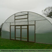 30ft Wide Poly Tunnel Uk Commercial Garden Polytunnels Plastic Polythene