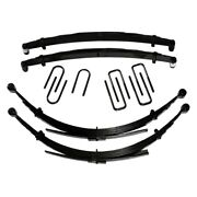 For Dodge W350 87-93 2.5 X 0.5-2 Softride Front And Rear Suspension Lift Kit