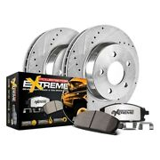 For Dodge Ram 3500 03-08 Brake Kit Power Stop 1-click Extreme Z36 Truck And Tow