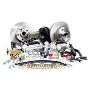 For Ford Mustang 67-69 Legend Series Plain Front Brake Conversion Kit