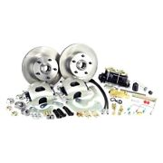 For Chevy Corvette 63-64 Brake Conversion Kit Legend Series Drilled And Slotted