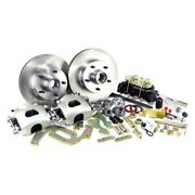 For Chevy Corvette 53-62 Brake Conversion Kit Legend Series Drilled And Slotted