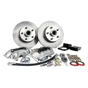For Ford Mustang 64-69 Legend Series Plain Front Brake Conversion Kit