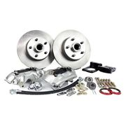 For Ford Mustang 70-73 Legend Series Plain Front Brake Conversion Kit