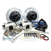 For Ford Ltd 70-71 Legend Series Drilled And Slotted Front Brake Conversion Kit