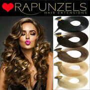 20 Micro Ring Stick I Tip Hair Extensions 1g Or 0.5g Luxury Rapunzels Remy Hair