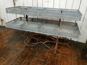 Rare C.1900 Antique French Produce Cart Retail Store Display Garden