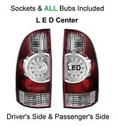 Led Passenger And Driver Replacement Rear Tail Lights Lamps For 2005-2015 Tacoma