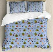 Boy Scout Duvet Cover Set Twin Queen King Sizes With Pillow Shams