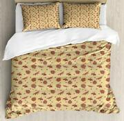 Ladybug Duvet Cover Set Twin Queen King Sizes With Pillow Shams