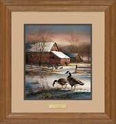 Winter Haven Framed Encore Print By Terry Redlin