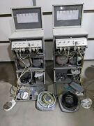 Lot Of 2 Dntlworks Dntl P-2000 Self-contained Portable Dental Delivery System