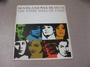 Movieland Wax Museum / The Stars' Hall Of Fame 1962 Souvenir Booklet Rare