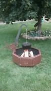 The Ultimate Fire Pit / Grill For Outdoor Cooking With Propane Option