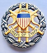 Rare Large Vietnam War Usa Joint Chiefs Of Staff Badge By N S Meyer New York