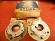 1930 1931 Hupmobile Wheel Oil Seal Grease Retainer And Flange Gasket 2 Nors