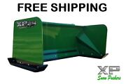 5and039 Xp24 John Deere Snow Pusher Box Free Shipping-rtr Tractor Loader Snow Plow