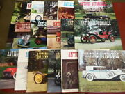 Lot Of 18 Antique Automobile Magazine Aaca Full Year 1976 1980 1981