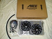 V8 F-150 Raptor Afco Dual Pass Heat Exchanger / Intercooler With Dual Fan Kit