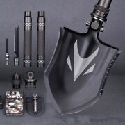 Outdoor Survival Tactical Folding Camping Shovel With Battle Axe Multitool 319