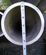 Aluminum 6061-t6 Pipe Schedule 80 5.5 Od And 4.75 Id 3/8 Wall 30ft Long