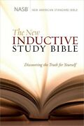 The New Inductive Study Bible Nasb By Precept Ministries International 2013,
