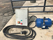 3 Phase 5 Hp Westinghouse Electric Motorandnbsp With Soft Start Control Panel