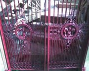 French Made Double Garden Gate From 19th Century