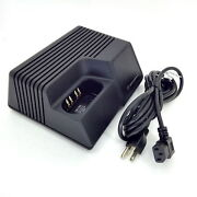 Motorola Saber/astro Rapid Rate Battery Charger Ntn4734a With L-shape Power Cord