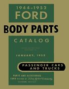 Oem Repair Maintenance Parts Book Bound For Ford Car And Truck - Body 1944-1952