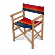 Sunset Designer Director Chair Handmade To Order Sustainable Eco Wood Folding