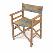 Solstice Designer Director Chair Handmade To Order Sustainable Eco Wood Folds