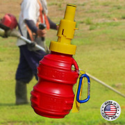Quickfillandreg 18oz 2pack Portable Fuel Bottle Chainsaw Trimmer Weed Eater