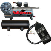 V Air Compressor 480 Airbagit 3 Gal 7-switchbox Relay W/pigtail